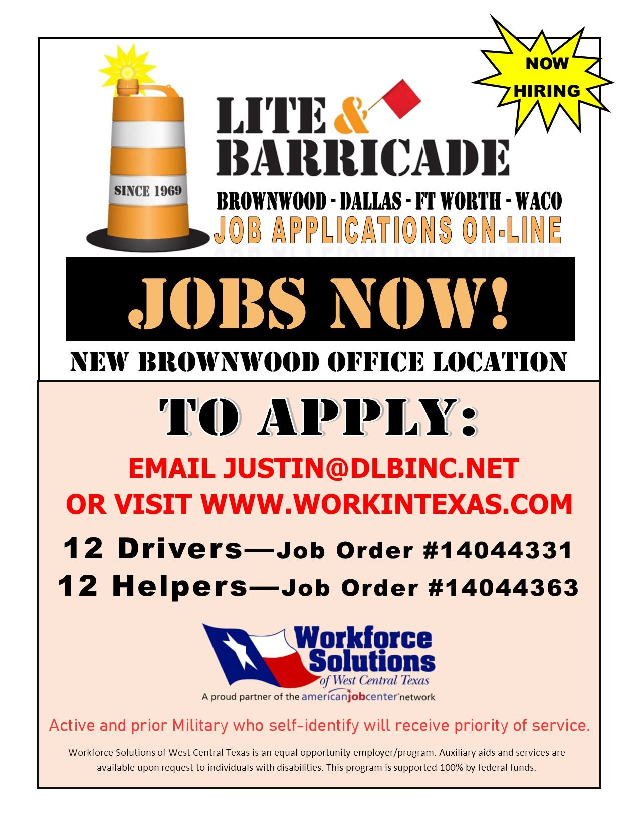 LITE  BARRICADE HIRE EVENT AD EDITED