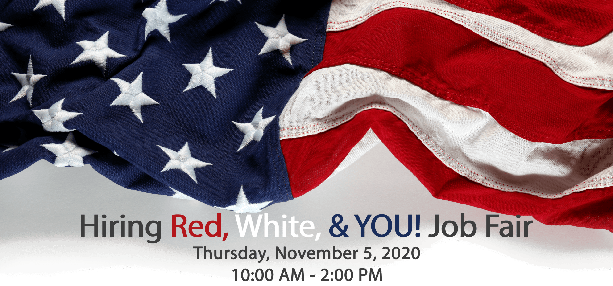 Hiring Red, White and You Website Banner 2020